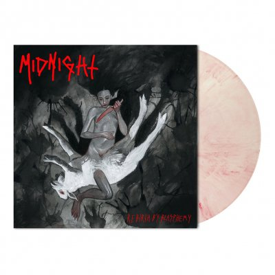 midnight - Rebirth By Blasphemy | Bloody Skin Vinyl