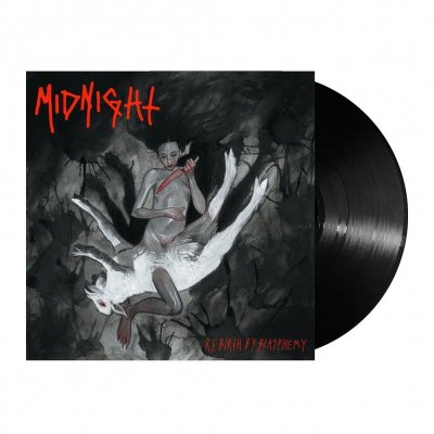 midnight - Rebirth By Blasphemy | Black Vinyl