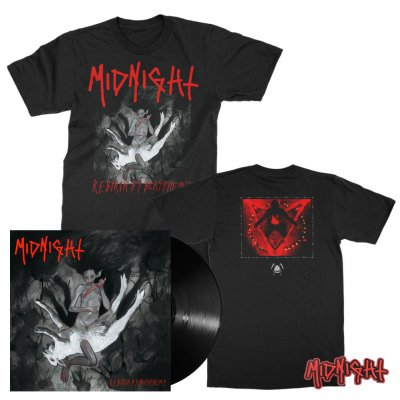 Midnight - Rebirth By Blasphemy | Black Vinyl Bundle