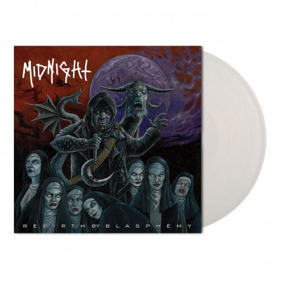midnight - Rebirth By Blasphemy | Clear Vinyl 7 Inch