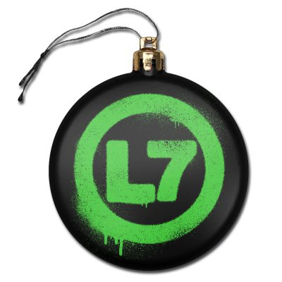 L7 - Drip Logo | Ornament