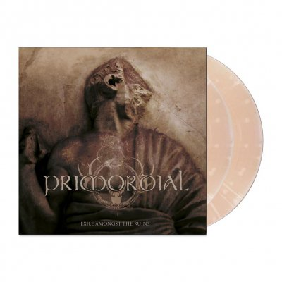 Primordial - Exile Amongst The Ruins | 2xClear Pale-Pink/White