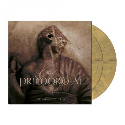 Primordial - Exile Amongst The Ruins | 2xDead Gold Marbled Viny