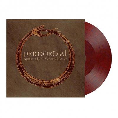 Primordial - Spirit The Earth Aflame   Wine-Red/Black Marbled V