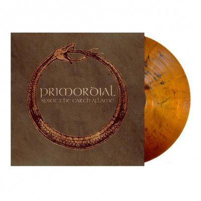 Primordial - Spirit The Earth Aflame | Yellow Ochre Marbled Vin