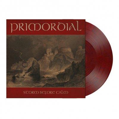 Primordial - Storm Before Calm   Wine-Red/Black Marbled Vinyl