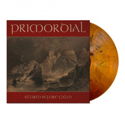Primordial - Storm Before Calm   Yellow Ochre Marbled Vinyl