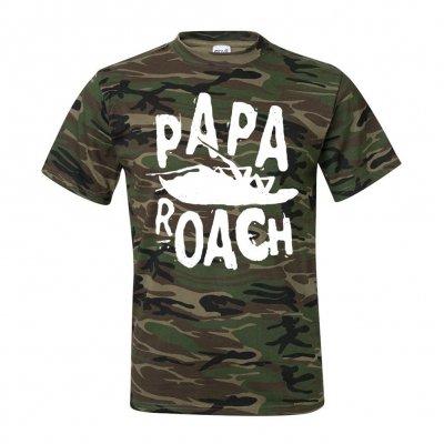 papa-roach - Classic Logo Camo | T-Shirt