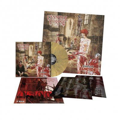 cannibal-corpse - Gallery Of Suicide | Dead Gold Marbled Vinyl