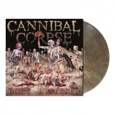 shop - Gore Obsessed | Clear Grey/Brown Marbled Vinyl