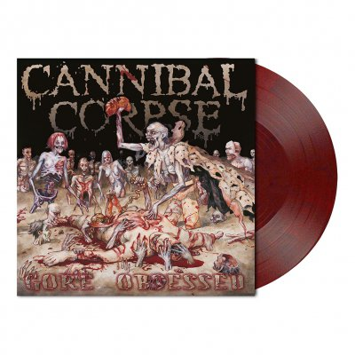 Cannibal Corpse - Gore Obsessed | Dark Red/Black Marbled Vinyl
