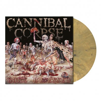 cannibal-corpse - Gore Obsessed | Opaque Dead Gold Marbled Vinyl