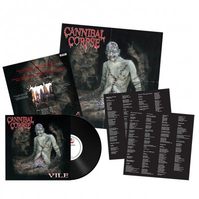 Cannibal Corpse - Vile | 180g Black Vinyl