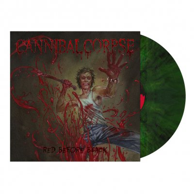 Cannibal Corpse - Red Before Black | Swamp Green Marbled Vinyl