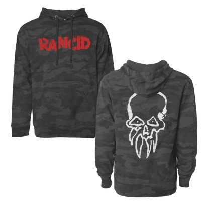 Rancid - Logo Dark Camo | Hoodie