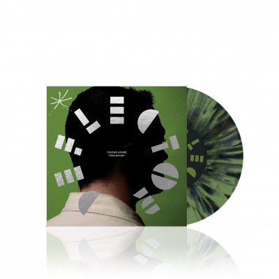 touche-amore - Deflector | Olive Green w/Black Splatter 7 Inch