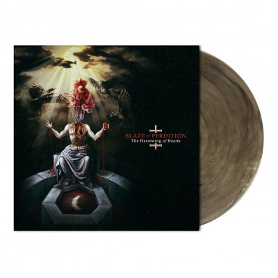 Blaze Of Perdition - The Harrowing Of Hearts | Colored+Glitter Vinyl