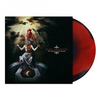 Blaze Of Perdition - The Harrowing Of Hearts | Blue/Red Swirl Vinyl