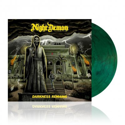 shop - Darkness Remains | Green w/ Black Smoke Vinyl