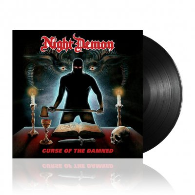 night-demon - Curse OF the Damned | Black Vinyl