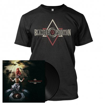 Blaze Of Perdition - The Harrowing Of Hearts | Black LP Bundle