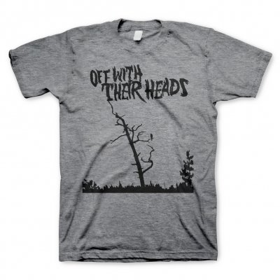 Off With Their Heads - Nothing To Crow Graphite | T-Shirt