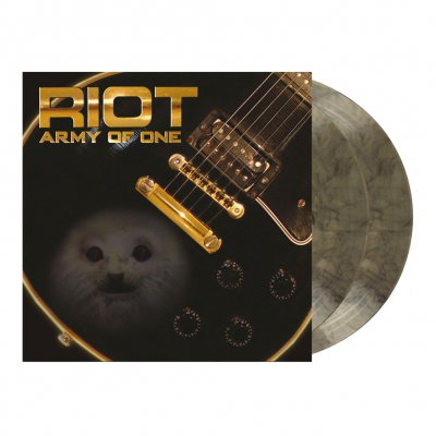 Riot - Army Of One | 2xClear/Black Marbled Vinyl