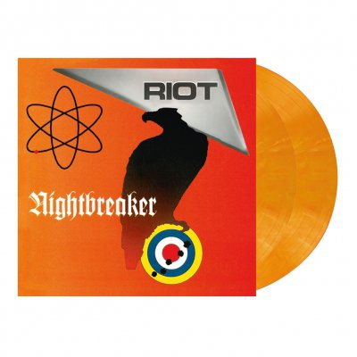 Riot - Nightbreaker | 2xOpaque Pastel Orange Marbled Viny