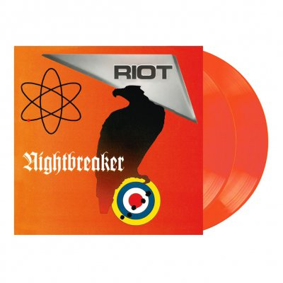 Riot - Nightbreaker | 2xClear Orange Red Vinyl