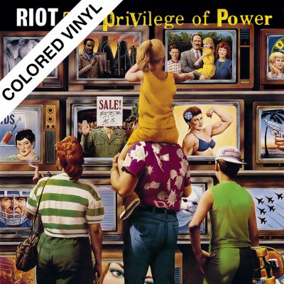 Riot - The Privilege Of Power | 2xGreen & Yellow Vinyl
