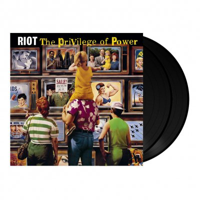 Riot - The Privilege Of Power | 2x180g Black Vinyl