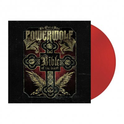 Powerwolf - Bible Of The Beast   Clear Red Vinyl