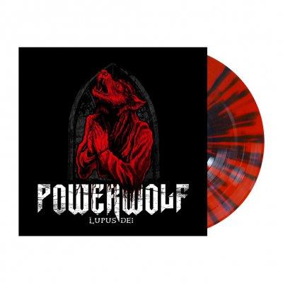 Powerwolf - Lupus Dei   Red/Black Splatter Vinyl