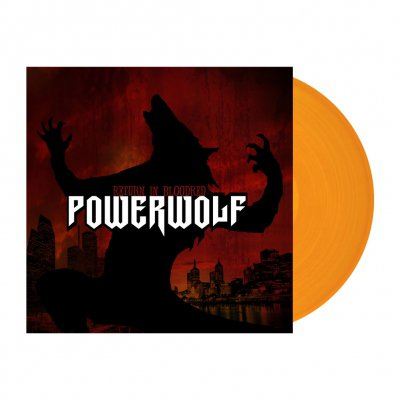 Powerwolf - Return In Bloodred | Clear Orange Vinyl