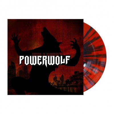 Powerwolf - Return In Bloodred   Red/Black Splatter Vinyl