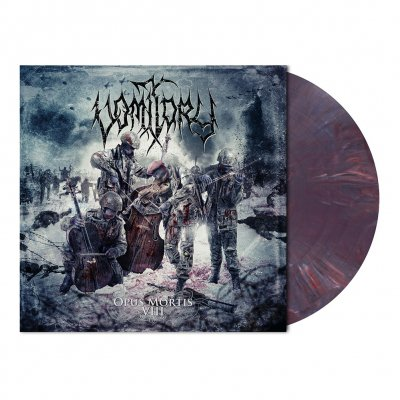 Vomitory - Opus Mortis VIII | Claret Violet Marbled Vinyl