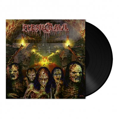 Fleshcrawl - As Blood Rains From The Sky | 180g Black Vinyl