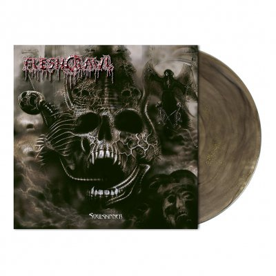 Fleshcrawl - Soulskinner | Colored+Glitter Vinyl