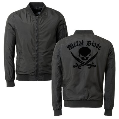 metal-blade - Pirate Logo | Bomber Jacket
