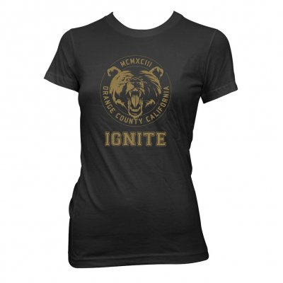 ignite - Bear | Girl Fitted T-Shirt