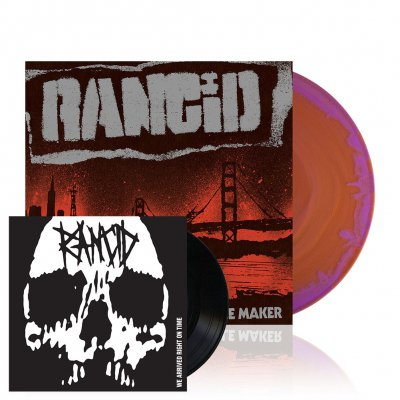 rancid - Trouble Maker | Yellow/Purple Mix Vinyl+7Inch