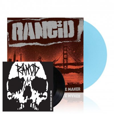 rancid - Trouble Maker | Light Blue Vinyl+7Inch