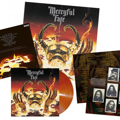 Mercyful Fate - 9 | Burnt Orange/Brown Marbled Vinyl