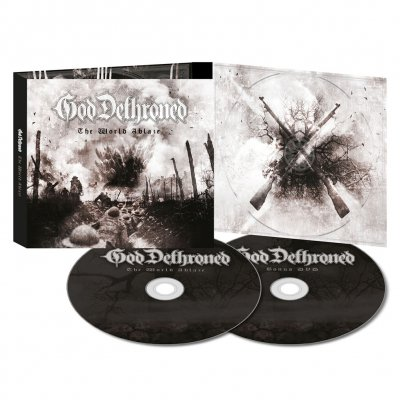 God Dethroned - The World Ablaze | Ltd. CD+DVD