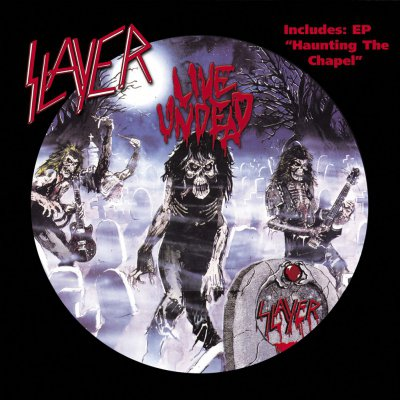 Slayer - Live Undead/Haunting The Chapel | DIGI-CD