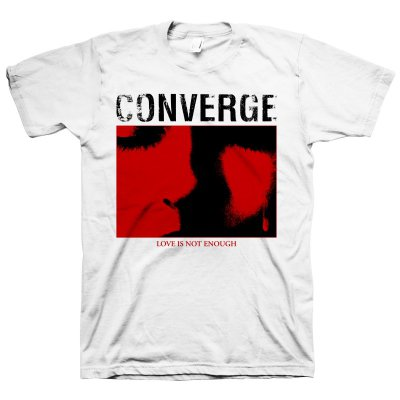 Converge - Love Is Not Enough White | T-Shirt