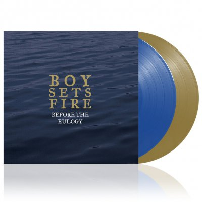 Boysetsfire - Before The Eulogy | 2xGold/Blue Vinyl