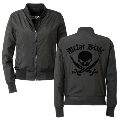 Metal Blade - Pirate Logo | Womens Bomber Jacket