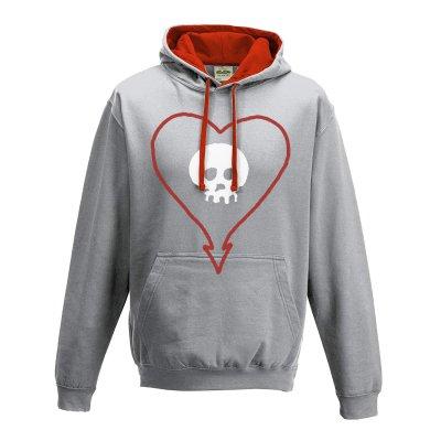 shop - Heart Skull | Hoodie