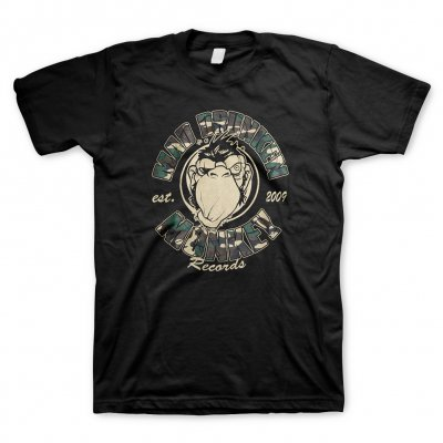 Mad Drunken Monkey Records - Camou Monkey | T-Shirt